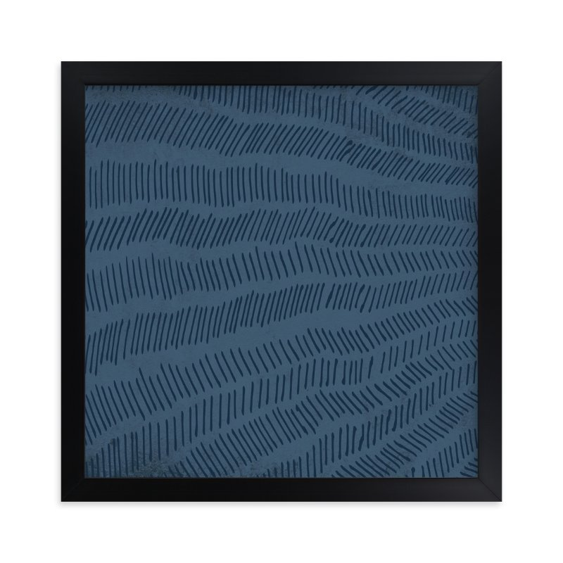 """""""Stacked"""" - Limited Edition Art Print by Paper Dahlia in beautiful frame options and a variety of sizes."""