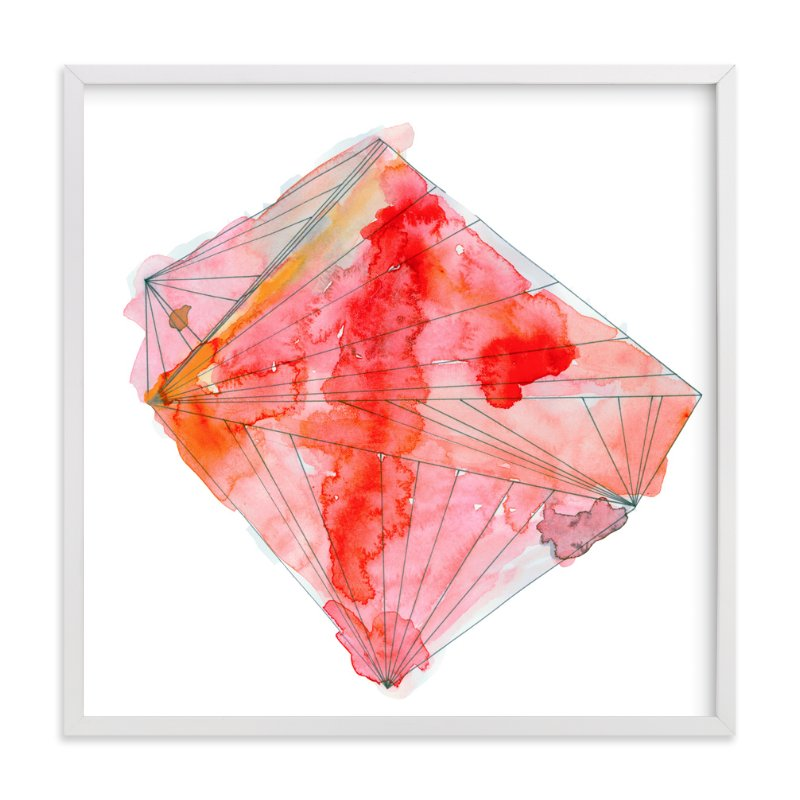 """ruby"" - Limited Edition Art Print by Naomi Ernest in beautiful frame options and a variety of sizes."