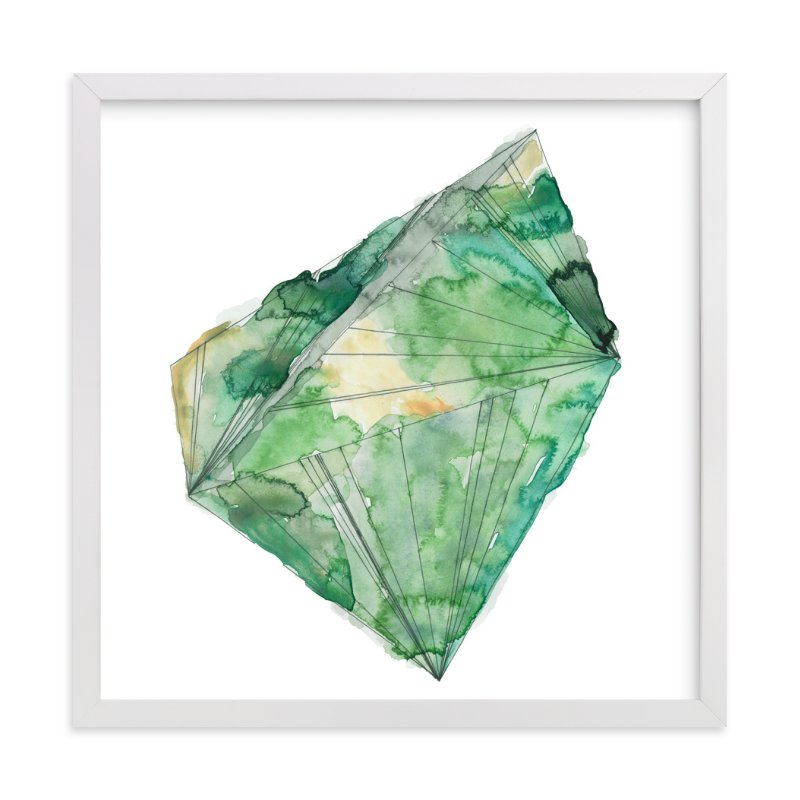 """emerald"" - Limited Edition Art Print by Naomi Ernest in beautiful frame options and a variety of sizes."