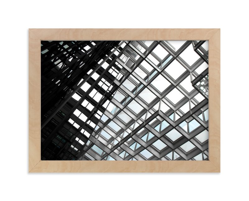 """Framing Sky"" - Limited Edition Art Print by van tsao in beautiful frame options and a variety of sizes."