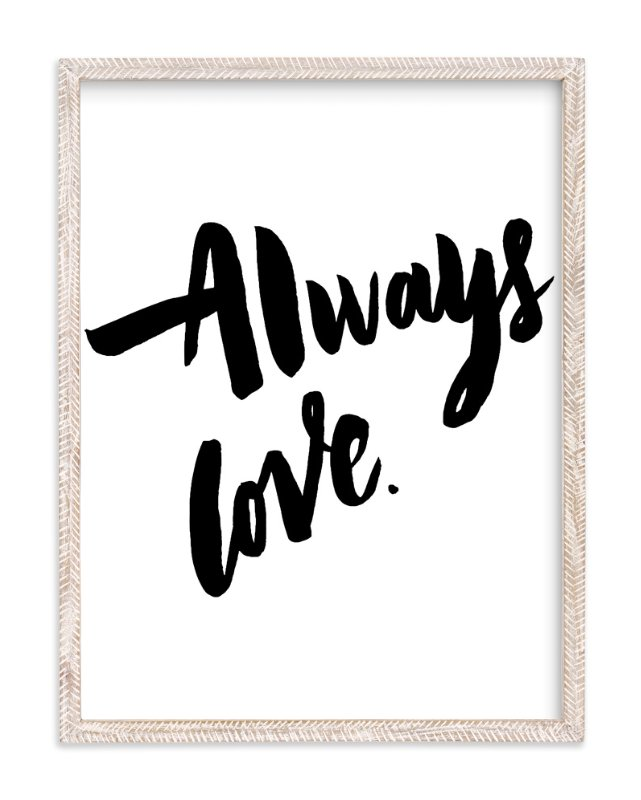"""Always Love"" - Limited Edition Art Print by Maria Clarisse in beautiful frame options and a variety of sizes."