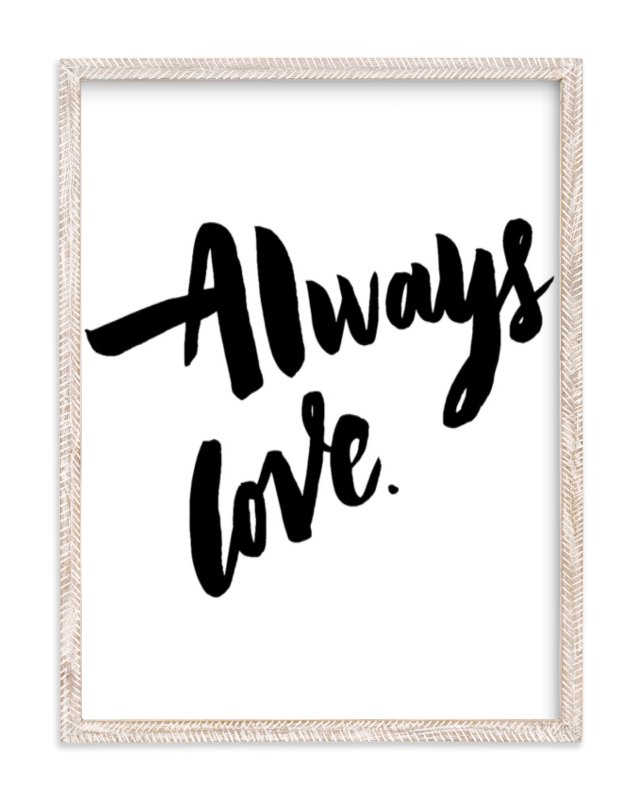"""""""Always Love"""" - Limited Edition Art Print by Maria Clarisse in beautiful frame options and a variety of sizes."""
