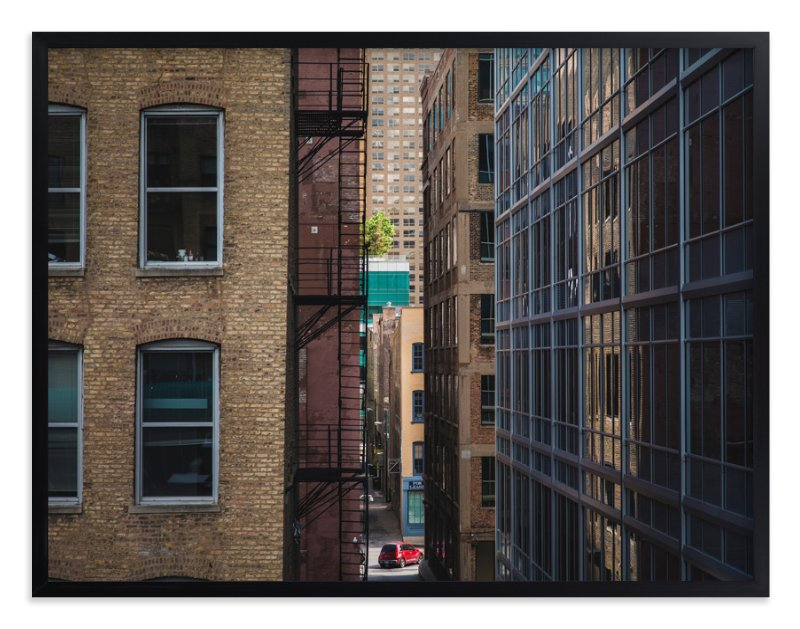 """Chicago Untitled, #1"" - Limited Edition Art Print by Oriana Koren in beautiful frame options and a variety of sizes."