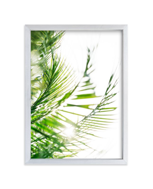 """Palm 2"" - Limited Edition Art Print by Kamala Nahas in beautiful frame options and a variety of sizes."