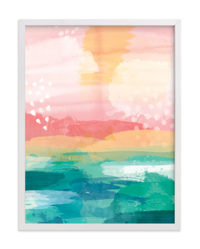 """""""New Day"""" - Limited Edition Art Print by Jess Phoenix in beautiful frame options and a variety of sizes."""