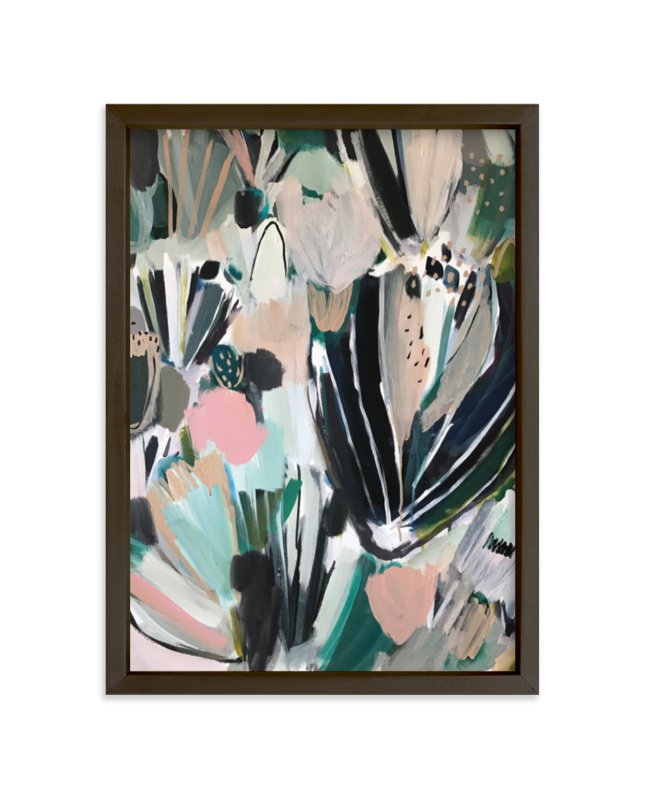 """""""Fresh Indigo"""" - Limited Edition Art Print by Laci Fowler in beautiful frame options and a variety of sizes."""