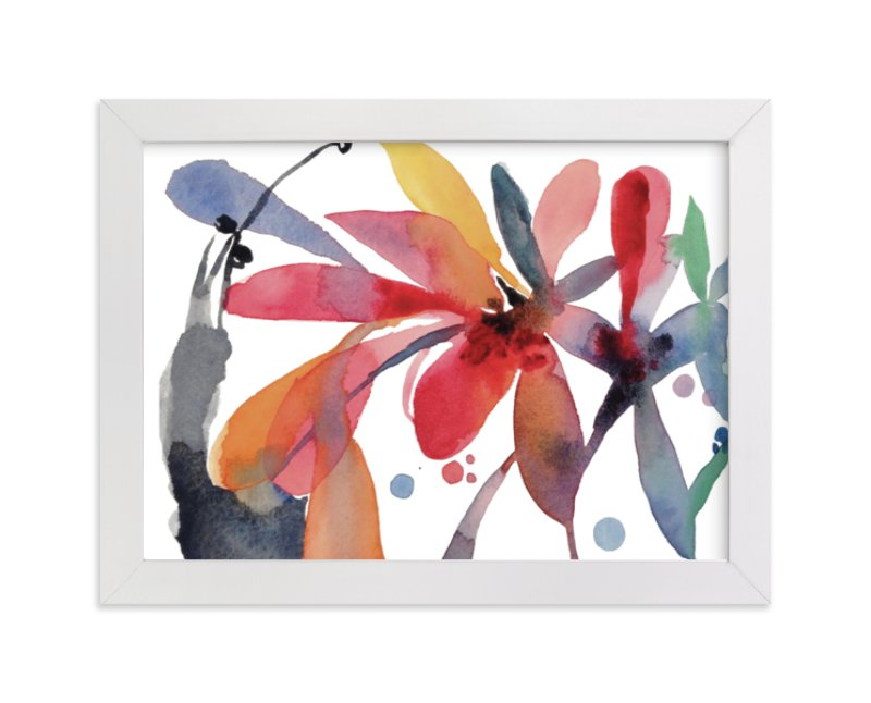 """Medley"" - Limited Edition Art Print by Claudia Bianchi in beautiful frame options and a variety of sizes."