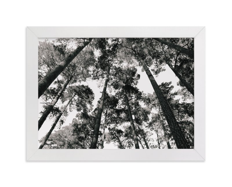 """""""In the Woods"""" - Limited Edition Art Print by lulu and isabelle in beautiful frame options and a variety of sizes."""