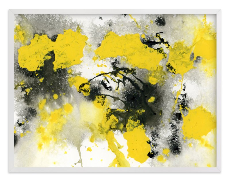 """""""Outburst"""" - Limited Edition Art Print by Michelle Waldie in beautiful frame options and a variety of sizes."""