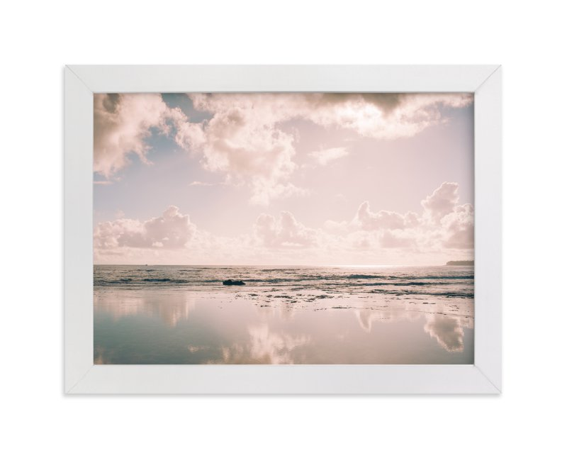 """Reflecting Clouds"" - Limited Edition Art Print by Anna Western in beautiful frame options and a variety of sizes."