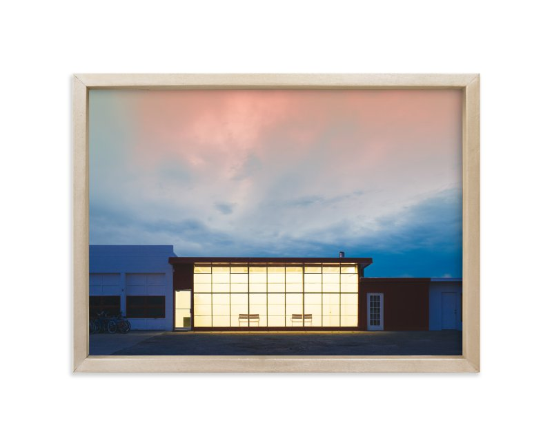 """Outside Looking In"" - Limited Edition Art Print by Andrew McClintock in beautiful frame options and a variety of sizes."