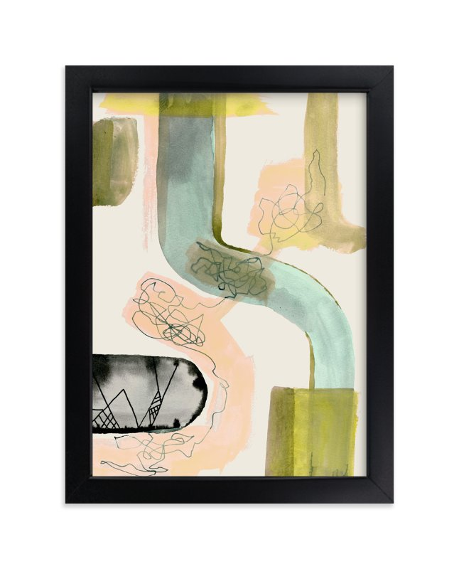 """Times Like These 1"" - Limited Edition Art Print by Amy Moen in beautiful frame options and a variety of sizes."