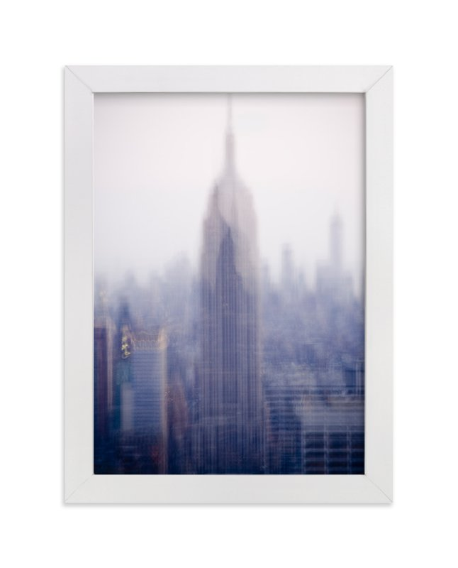 """""""empire state"""" - Art Print by Kaitlin Rebesco in beautiful frame options and a variety of sizes."""