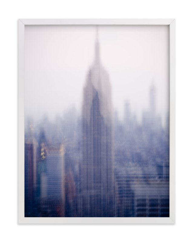 """empire state"" - Limited Edition Art Print by Kaitlin Rebesco in beautiful frame options and a variety of sizes."