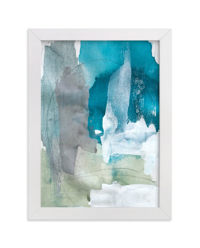 """Sea Glass No. 2"" - Art Print by Julia Contacessi in beautiful frame options and a variety of sizes."
