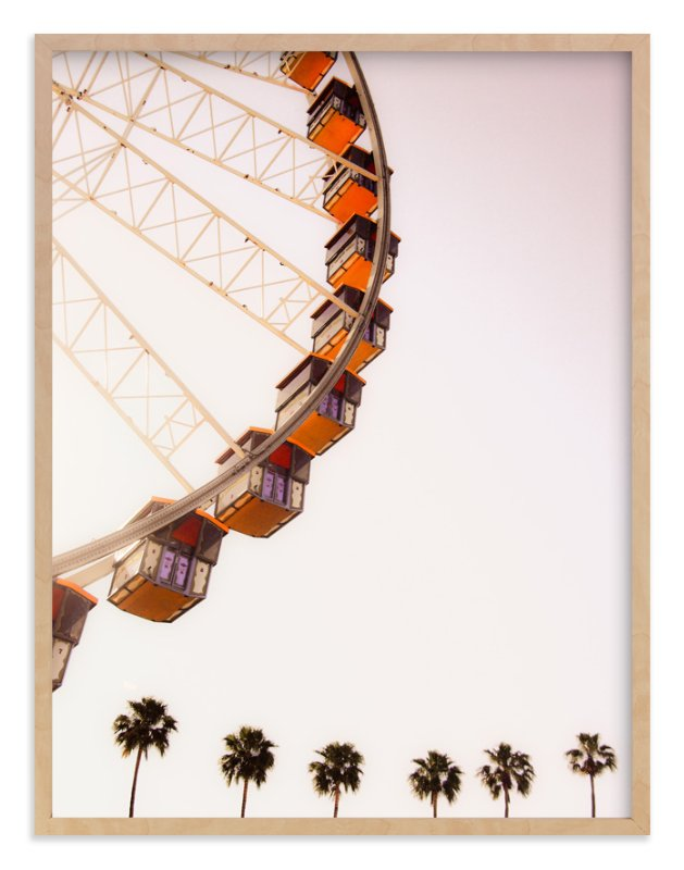 """""""California Dreams"""" - Art Print by Alexandra Nazari in beautiful frame options and a variety of sizes."""