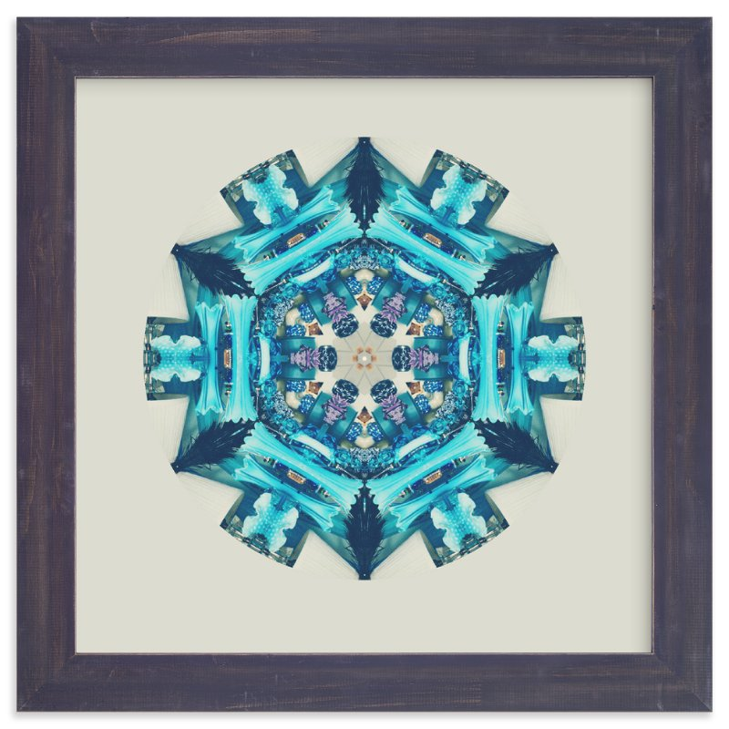 """""""Blue Moon Room"""" - Limited Edition Art Print by Stephica Burton in beautiful frame options and a variety of sizes."""
