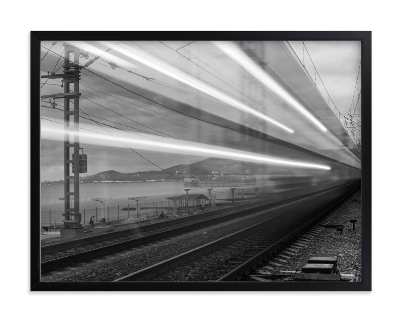 """""""Sochi Express"""" - Limited Edition Art Print by Mark Kirby in beautiful frame options and a variety of sizes."""
