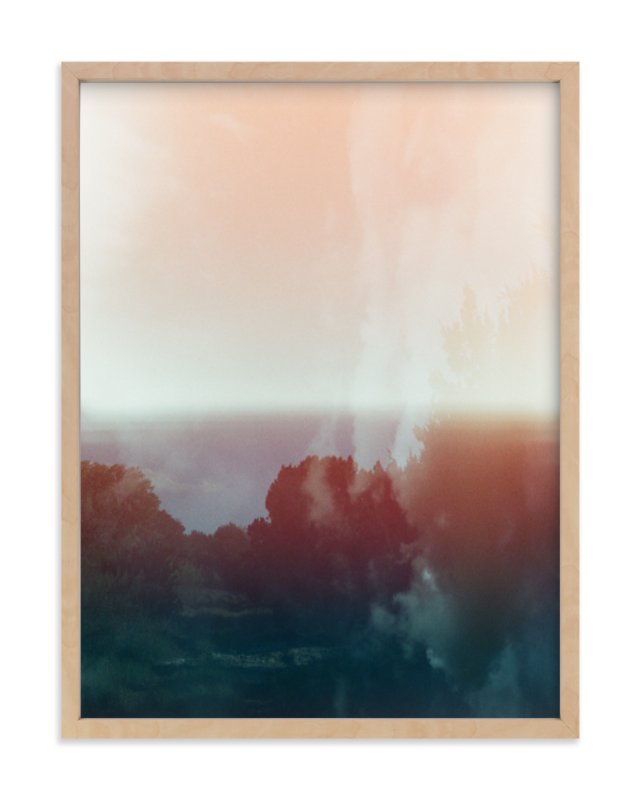 """""""Paradise For the Soul"""" - Limited Edition Art Print by Sasquatch Mansfield in beautiful frame options and a variety of sizes."""