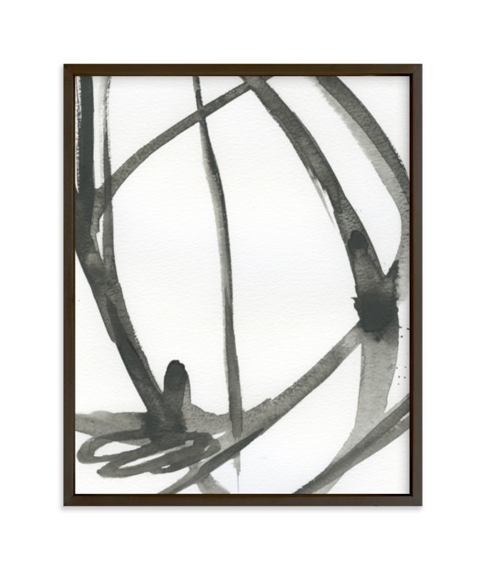 """""""Plant Cell 4"""" - Limited Edition Art Print by Mary Gaspar in beautiful frame options and a variety of sizes."""