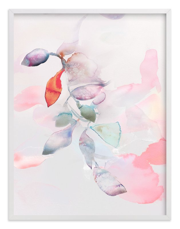 """""""Foliage Trails 2"""" - Limited Edition Art Print by Marta Spendowska in beautiful frame options and a variety of sizes."""