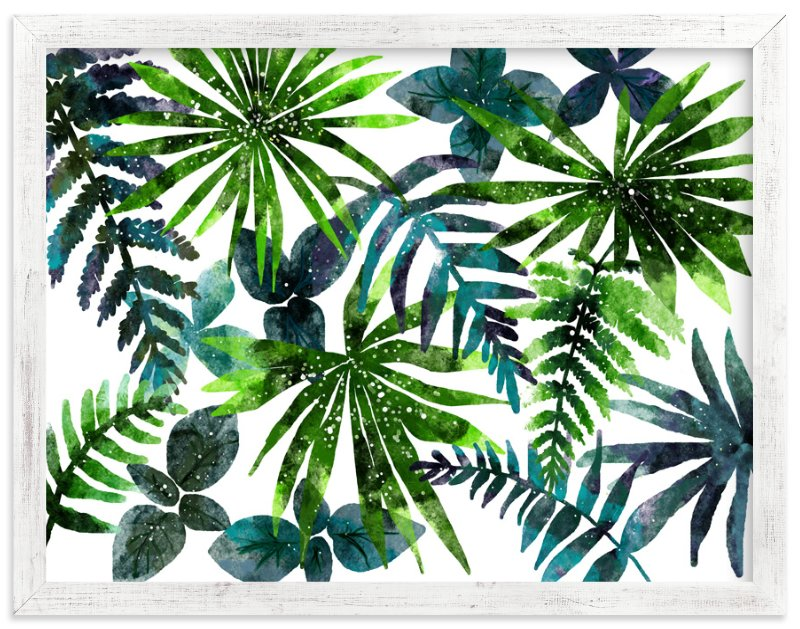 """rainforest"" - Limited Edition Art Print by Cass Loh in beautiful frame options and a variety of sizes."