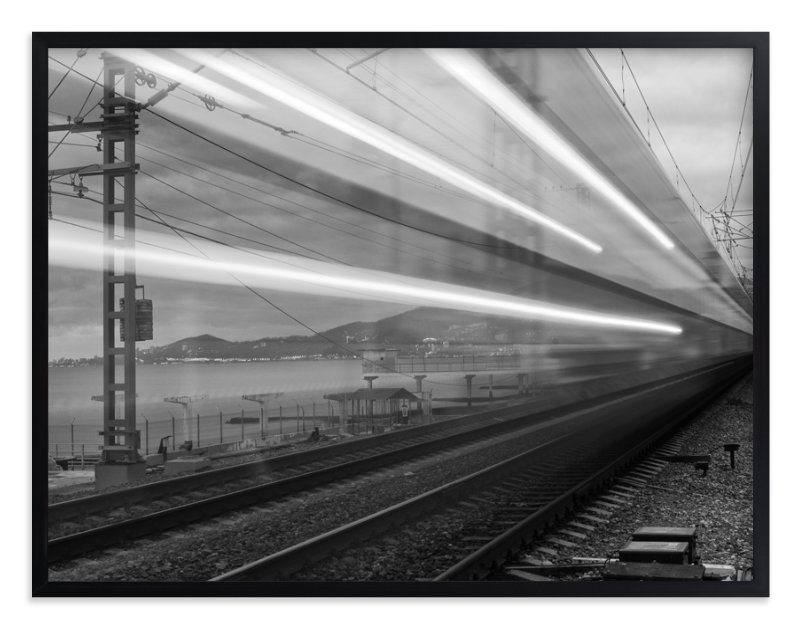 """Sochi Express"" - Limited Edition Art Print by Mark Kirby in beautiful frame options and a variety of sizes."