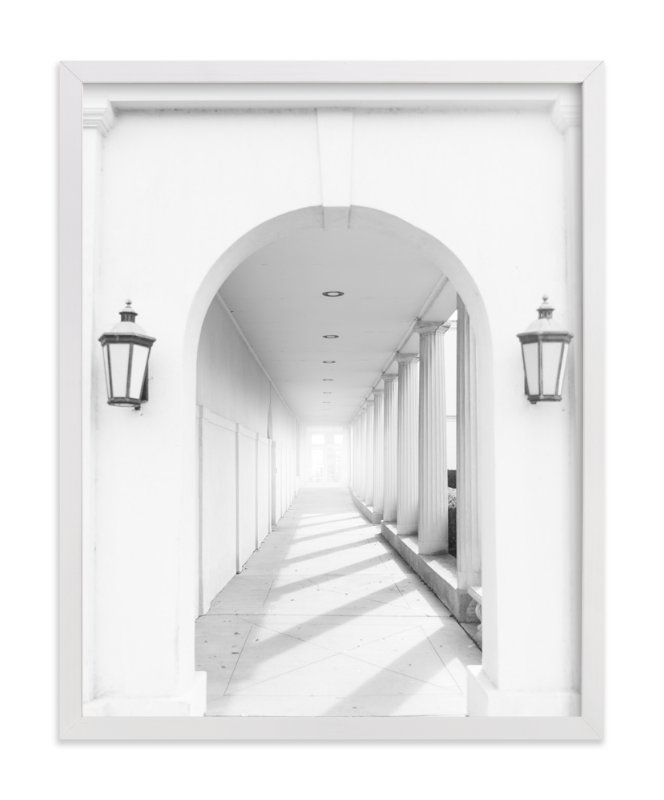 """""""Arches"""" - Art Print by Ilze Lucero in beautiful frame options and a variety of sizes."""