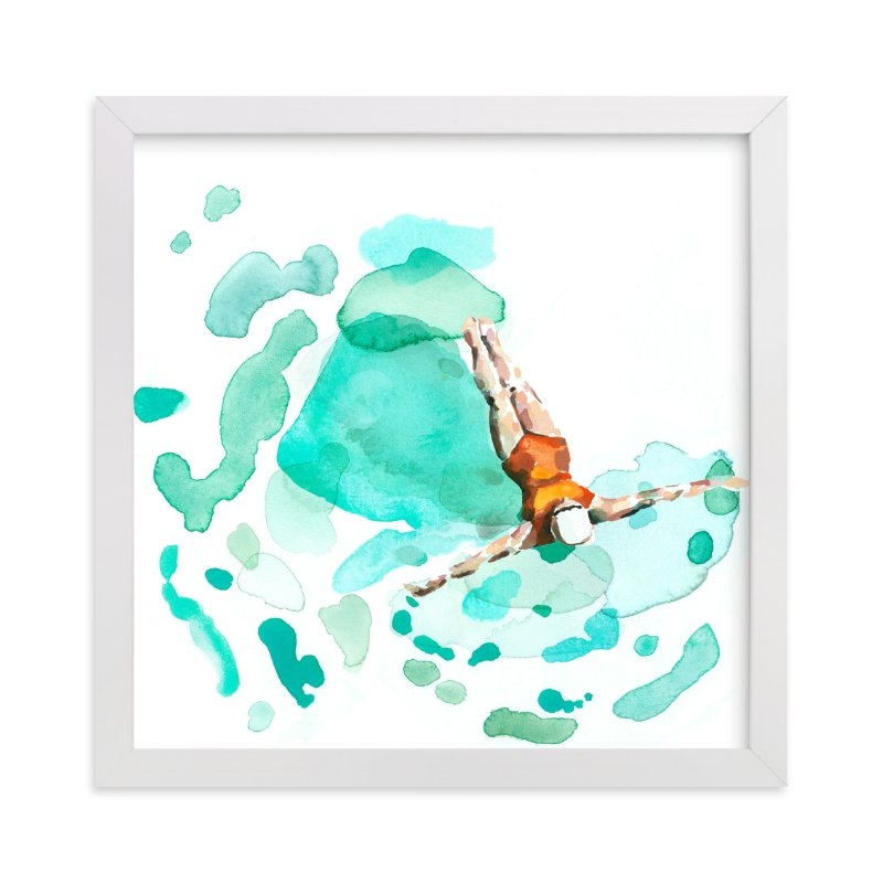 """Float"" - Limited Edition Art Print by Betty Hatchett in beautiful frame options and a variety of sizes."