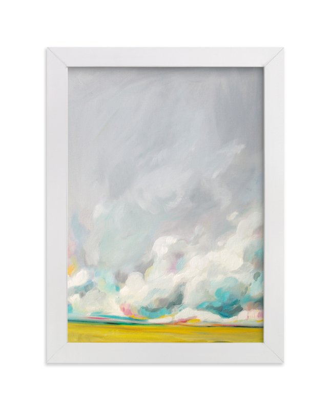 """Mid-summertime"" - Limited Edition Art Print by Emily Jeffords in beautiful frame options and a variety of sizes."