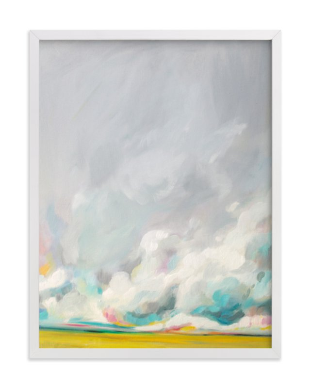 """""""Mid-summertime"""" - Art Print by Emily Jeffords in beautiful frame options and a variety of sizes."""