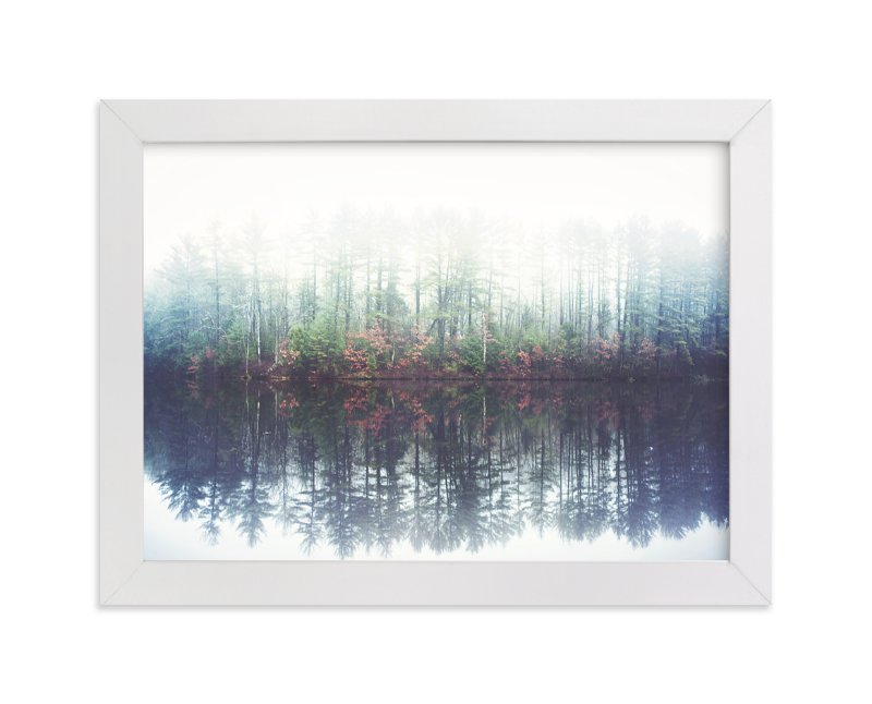 """Reflecting Amongst The Fog And Light"" - Limited Edition Art Print by Smile Peace Love in beautiful frame options and a variety of sizes."