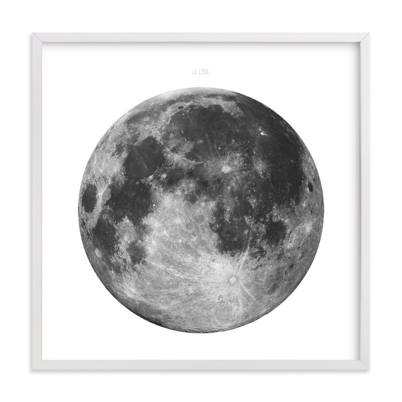 """""""La Luna"""" - Limited Edition Art Print by Keri Chubb in beautiful frame options and a variety of sizes."""