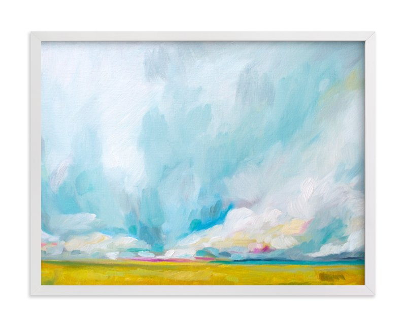 """""""Savannah Lands"""" - Limited Edition Art Print by Emily Jeffords in beautiful frame options and a variety of sizes."""