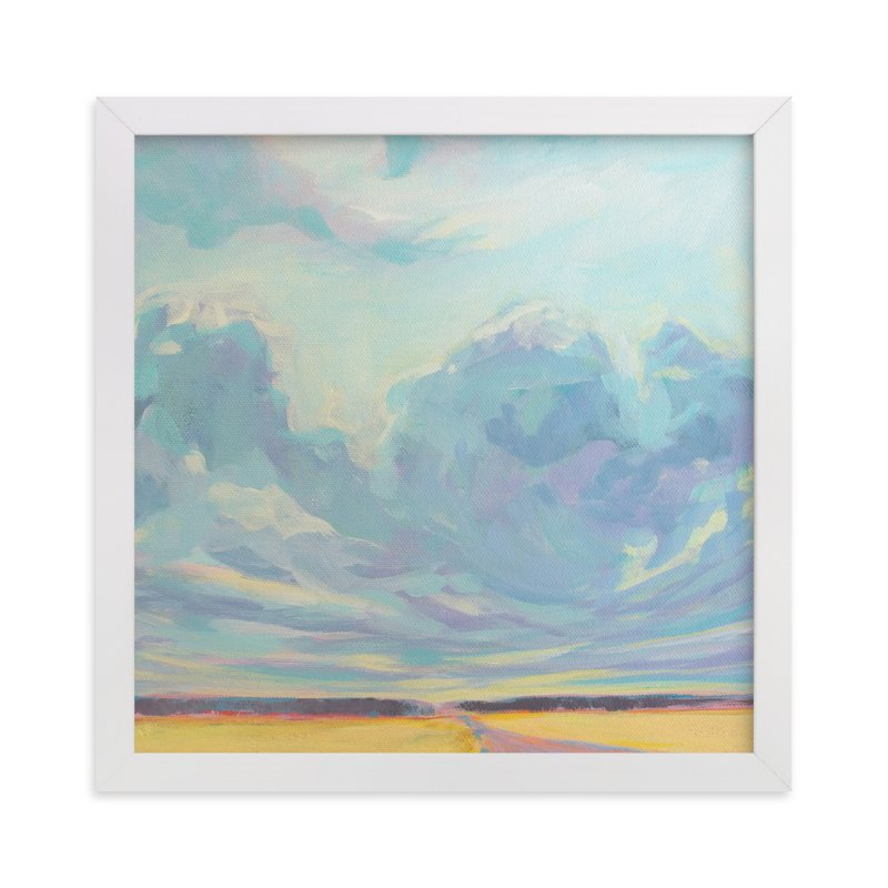 """Big Sky Country"" - Limited Edition Art Print by Vicki Rawlins in beautiful frame options and a variety of sizes."