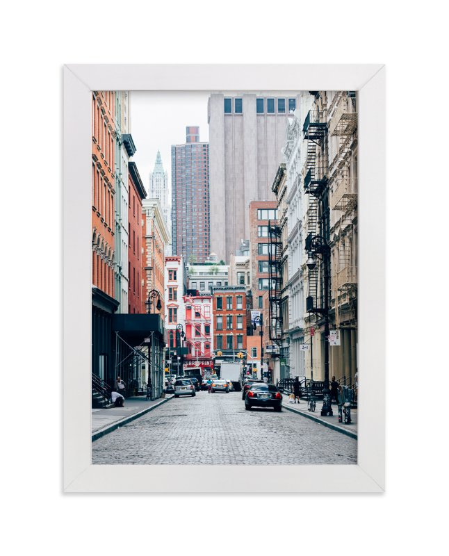 """SoHo"" - Limited Edition Art Print by Kaitlin Rebesco in beautiful frame options and a variety of sizes."