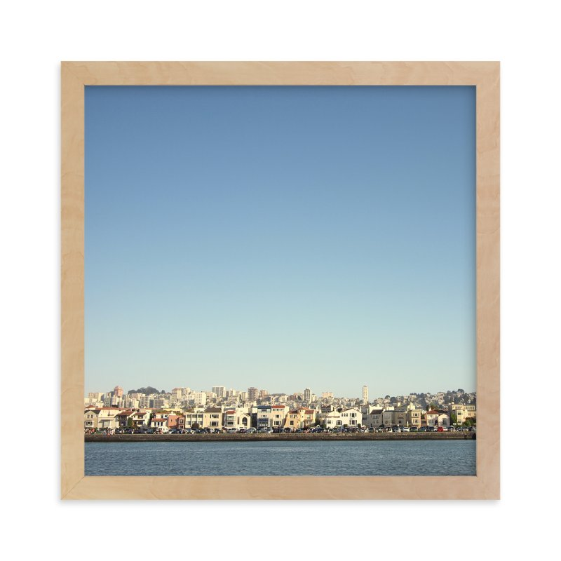 """Bayside"" - Limited Edition Art Print by Alexandra Nazari in beautiful frame options and a variety of sizes."