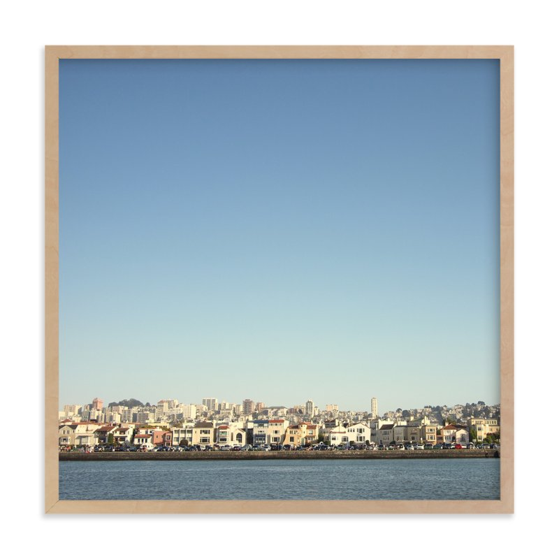 """""""Bayside"""" - Limited Edition Art Print by Alexandra Nazari in beautiful frame options and a variety of sizes."""