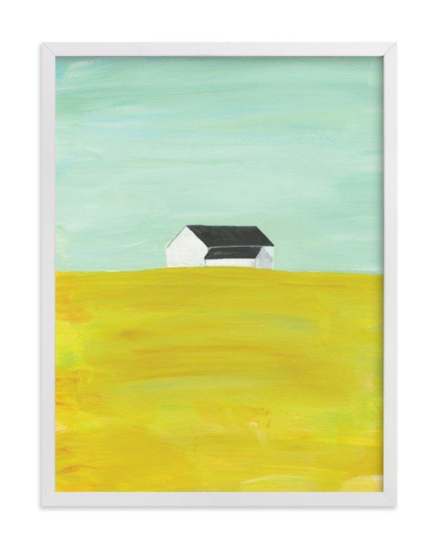 Rural Midwest Art Print