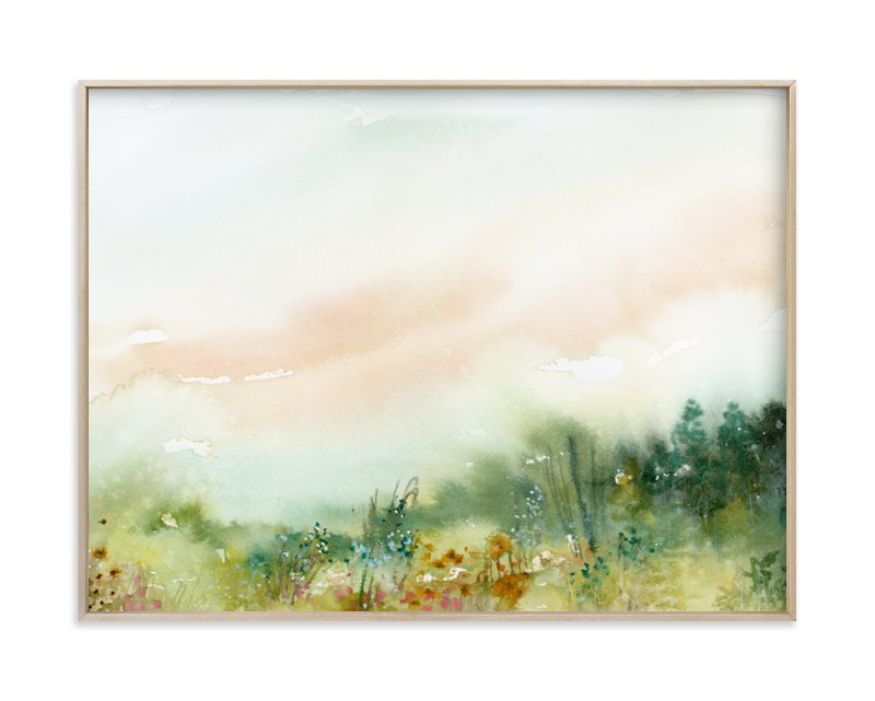 """""""MeadowLand"""" - Limited Edition Art Print by Lindsay Megahed in beautiful frame options and a variety of sizes."""