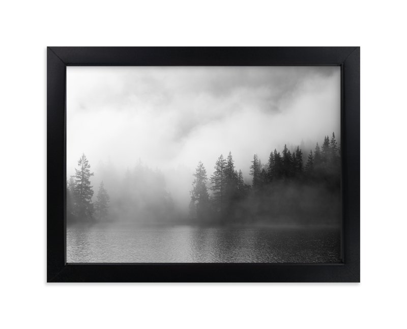 """Dark Fog"" - Limited Edition Art Print by Jennifer Morrow in beautiful frame options and a variety of sizes."