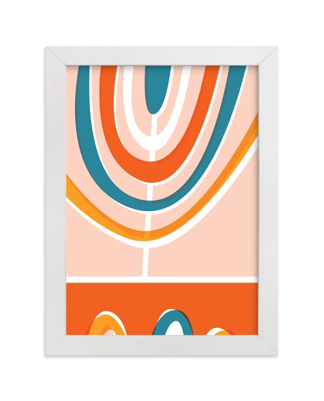 """""""Daybreak"""" - Limited Edition Art Print by Oscar & Emma in beautiful frame options and a variety of sizes."""