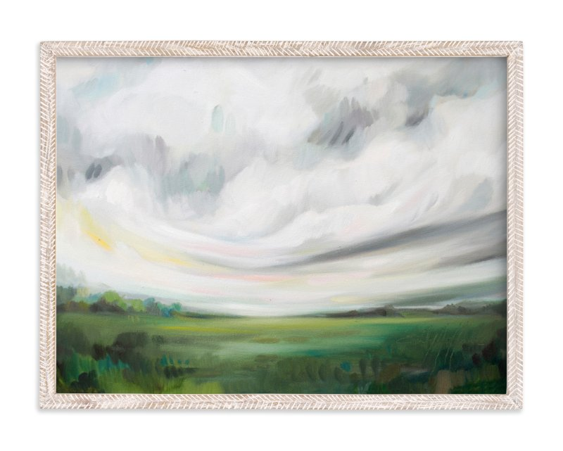 """""""Mornings Away"""" - Limited Edition Art Print by Emily Jeffords in beautiful frame options and a variety of sizes."""