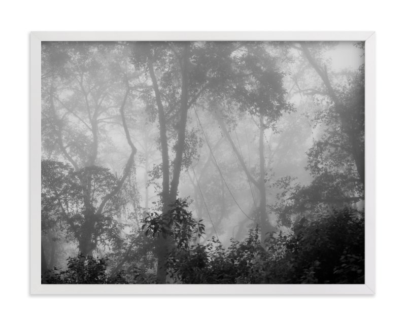 """""""Nowhere But Here"""" - Limited Edition Art Print by Kaitlin Rebesco in beautiful frame options and a variety of sizes."""