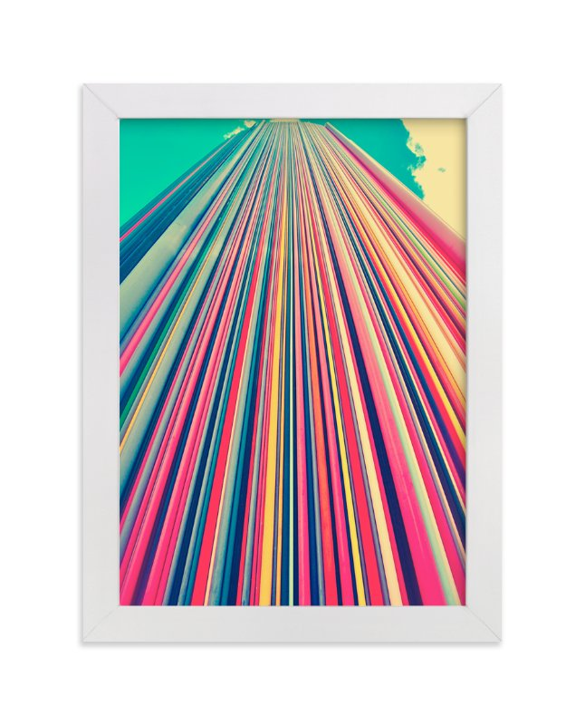 """Lines"" - Limited Edition Art Print by Lucrecia in beautiful frame options and a variety of sizes."
