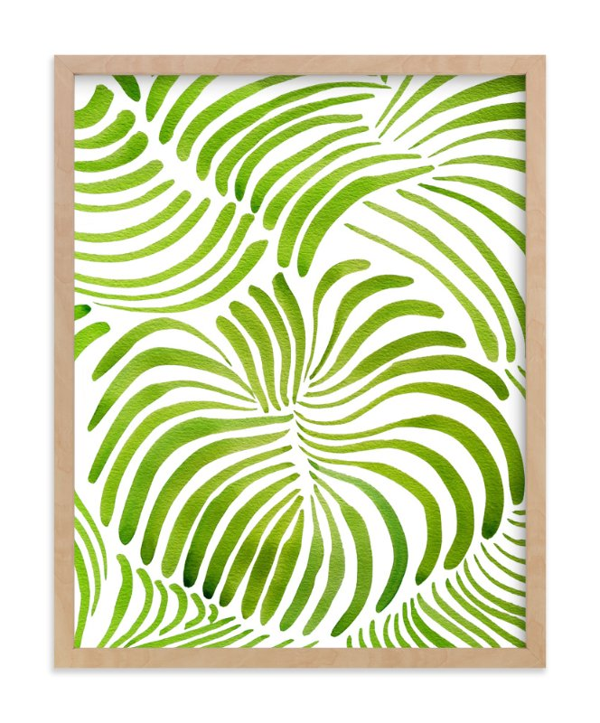 """""""Minted Forest"""" - Limited Edition Art Print by Deborah Velasquez in beautiful frame options and a variety of sizes."""