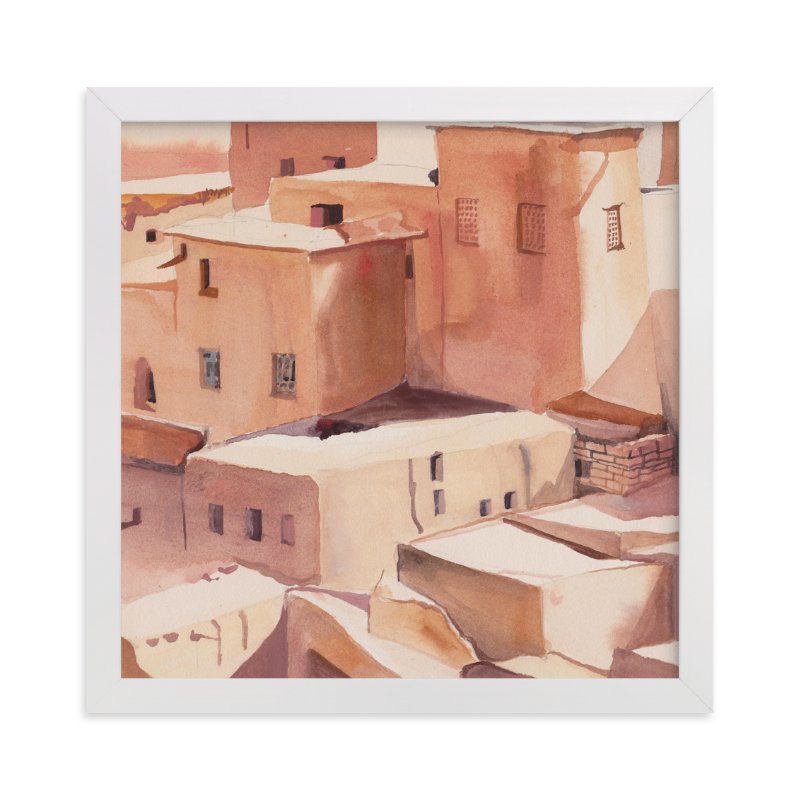 """Morocco"" - Limited Edition Art Print by Viktoria Eperjesi in beautiful frame options and a variety of sizes."