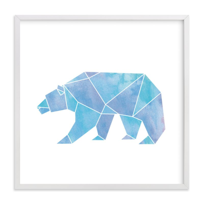 """""""Arctic"""" - Limited Edition Art Print by Becca Thongkham in beautiful frame options and a variety of sizes."""