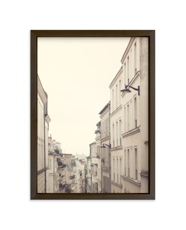 """""""Montmartre Unique Perspectives"""" - Limited Edition Art Print by Caroline Mint in beautiful frame options and a variety of sizes."""