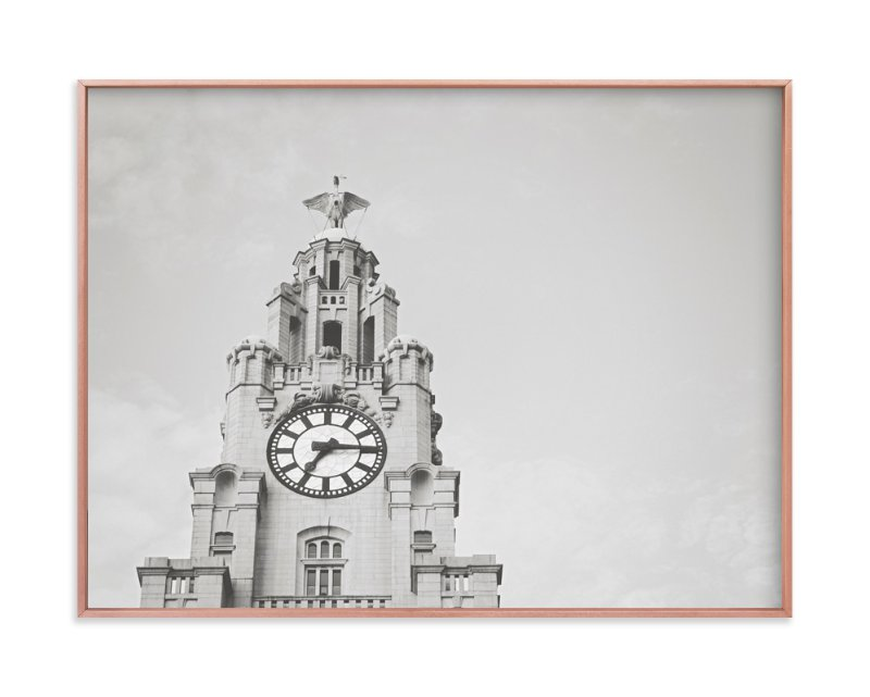"""liver bird"" - Limited Edition Art Print by Stacy Cooke in beautiful frame options and a variety of sizes."